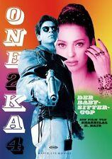 One 2 Ka 4 - Der Babysitter-Cop (Shah Rukh Khan) Bollywood DVD NEU + OVP!