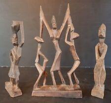 3 STATUETTES ART AFRICAIN Ref 292739260656