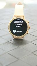 """Fossil Q Venture DW7F1 Women's Smart Watch Rose Gold w 18"""" Leather Band 40mm"""