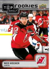 2018 Upper Deck NSCC Top Shelf Rookies TS-10 Nico Hischier Devils