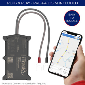 iTrack FS100 Vehicle Car Van Motorhome Caravan GPS Tracker - Easy Installation