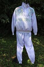 Vintage Warmup Track Suit Womens Sz M Color Lilac, outdoor Tennis Gym