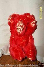"""Georgene Palka Troll Red Monster Plush 7"""""""
