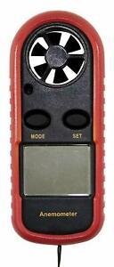 REV LCD Windgeschwindigkeitsmessgerät Windmesser Thermometer 0037650012 E5-3