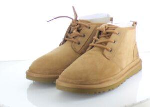 76-54 NEW $130 Men's Sz 8M Ugg Neumel Suede Genuine Shearling Chukka Boot