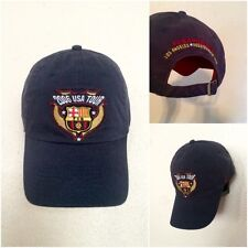 FC FCBarcelona 2006 USA TOUR Futbol Club Hat Cap Buckle Spain Soccer. NEW a9a04dd0320
