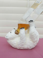 20cm Polar Bundy Drop Bear Bottle Holder POLBOTTL Poly Resin 9319844564663