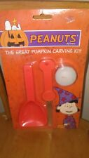 Snoopy (Peanuts) Halloween The great pumpkin carving kit