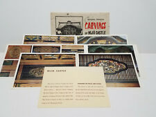 Vintage Japanese Postcard Set I Nice Set of 7 Large Color 1960's Travel Ephemera