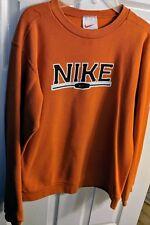 Nike Boys Sweatshirt, Orange, Large