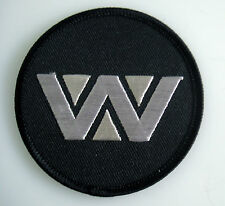 "Alien - Weyland ""W"" Yutani schwarz - Logo Patch Aufnäher - zum Aufbügeln - neu"