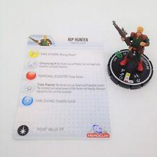 Heroclix Crisis set Rip Hunter #021 Uncommon figure w/card!