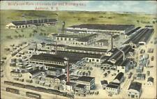 Amherst Nova Scotia Canada Car & Foundry Co c1920 Postcard