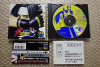 "The King Of Fighters 95 Kof + Spine/Regist ""Good Condition"" Neo Geo CD SNK Japan"