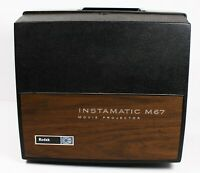 Tested and Working Vintage Kodak Instamatic M67 Movie Projector Super 8 and 8MM