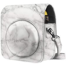 For Fujifilm Instax Mini 70 Instant Film Camera Bag Cover Case w/ Strap, Marble