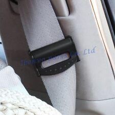 Black Safety Car Seat Belt Reduce Discomfort Buckle Stopper Catcher Accessories