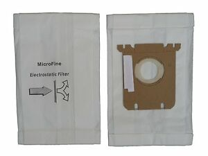 Eureka Style OX, Electrolux Type S, Harmony Micro Allergen Filtration Vacuum Bag