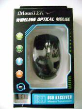 2.4GHz Wireless Optical Mouse &USB Receiver 1600 DPI for PC Desktop Laptop
