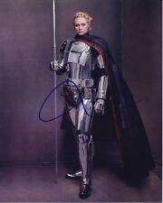 GWENDOLINE CHRISTIE signed autographed STAR WARS CAPTAIN PHASMA photo