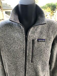 EUC Men's PATAGONIA Gray Better Sweater, Medium