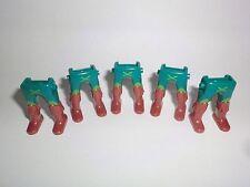 Playmobil 5 x Ritter Garde Piraten Beine grün Stiefel braun