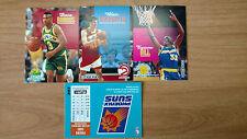 1992 NBA Skybox 4 card lot: Barros, Hill, Rasmussen, Suns