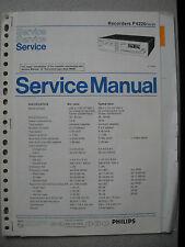 Philips F6220 Service Manual inkl. Service Info