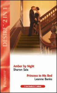 Amber by Night: AND Princess in His Bed by Leanne ... by Banks, Leanne Paperback
