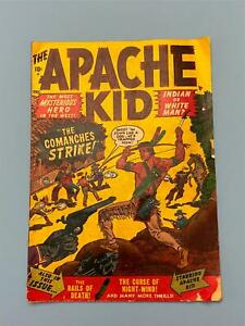 1950 APACHE KID # 1 Comic ~ Marvel ATLAS WESTERN Indian KEY & RARE Only 1 onEBAY