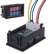 DC Auto Dual LED Digital Display Voltmeter Amperemeter Amp Volt Meter