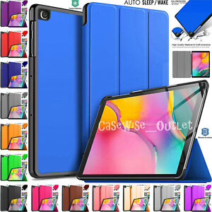 """Leather Magnetic Smart Stand Case Cover For Samsung Galaxy Tab A 10.1"""" Inch 2019"""