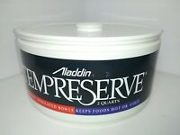 Aladdin Tempreserve 2 Qt Round Insulated Bowl Hot or Cold Storage Container