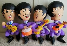 Vintage Collectible The Beatles Inflatable 1966 Blow Up dolls 15""