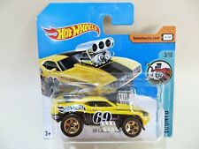 HOTWHEELS '69 CAMARO Z28' #69 YELLOW. TOONED. MIB/CARDED/SHORT CARD
