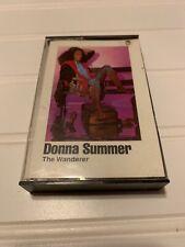 DONNA SUMMER The Wanderer Cassette 1980