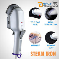 Clothes Portable Steam Iron Home Handheld Fabric Laundry Steamer Brush Travel