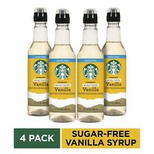 Starbucks Naturally Flavored Sugar-Free Vanilla Coffee Syrup, 12.17 Fl Oz,Pack..