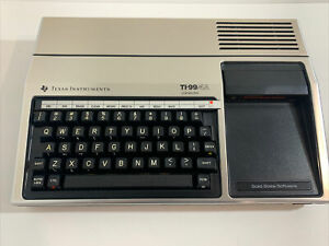 Vintage Texas Instruments TI-99/4A Computer Console