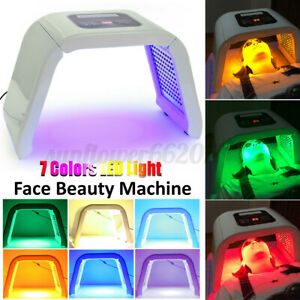 PDT LED Light Photodynamic Facial Skin Care Rejuvenation Photon Therapy 7 Colors