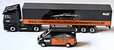 Mercedes Actros Ko-SZ + Sprinter SIXT rent a car 1:87 Schuco 26913