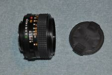 Minolta MD 50mm f1.4 Prime Lens.