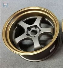 "18"" ROTA D2-EX Sports Bronze Lip WHEELS RIMS FORD, TOYOTA, HONDA, MITSUBISHI"