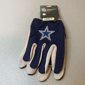 WindCraft NFL Dallas Cowboys Adult Sport Utility Gloves One Size Fits Most