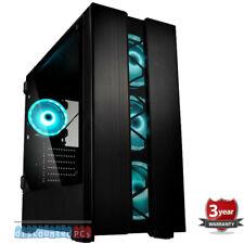 AMD Ryzen 5 2600x 8gb Gaming Home Computer Kolink Phalanx  GTX 1080ti up145