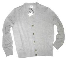 Gap men's Grey extra fine Merino wool cardigan Sweater size XL