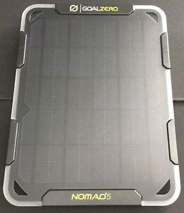 GOAL ZERO Nomad 5 Portable Solar Panel 5 Watts Monocrystalline # 11500