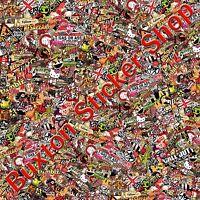 Retro Classic Stickers Bomb sheet Euro  Vinyl Decal vw vauxhall honda Dub wrap