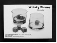 18x Favor Gift Whisky Chilling Cooling Cold Cool Wine Stones Rocks Bag Ice Cubes