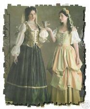 PATTERN for Renaissance Lady Wench costume Hat Veil Simplicity 3809 4 6 8 dress